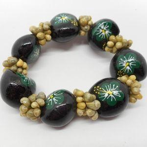Jewelry - Vintage Buckeye Beaded Bracelet